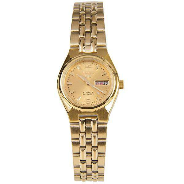 SEIKO SYMK36K1 Automatic  Gold Stainless Steel Watch for Women