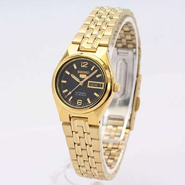 SEIKO SYMK38K1 Automatic  Gold Stainless Steel Watch for Women