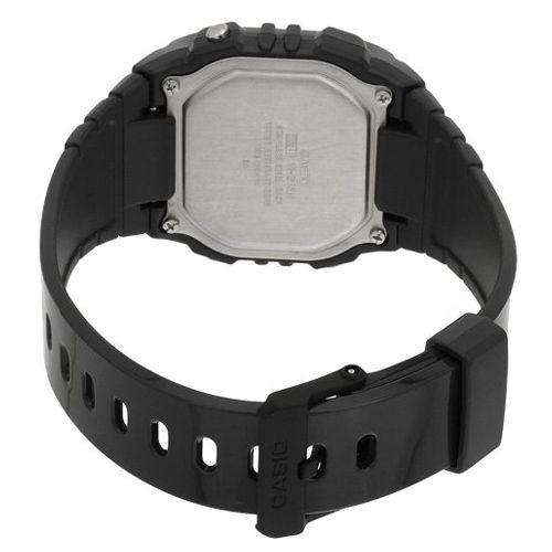 Casio W-215H-8A Dark Gray Resin Strap Watch For Men and Women