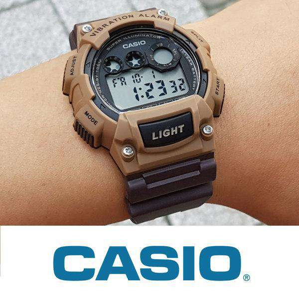 Casio W-735H-5A Brown Resin Watch for Men