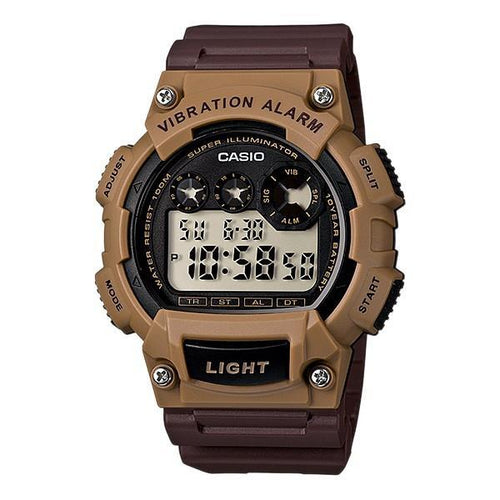 Casio Standard Men's Black Resin Strap Sports Watch- W-735H-5A - Watchportal Philippines