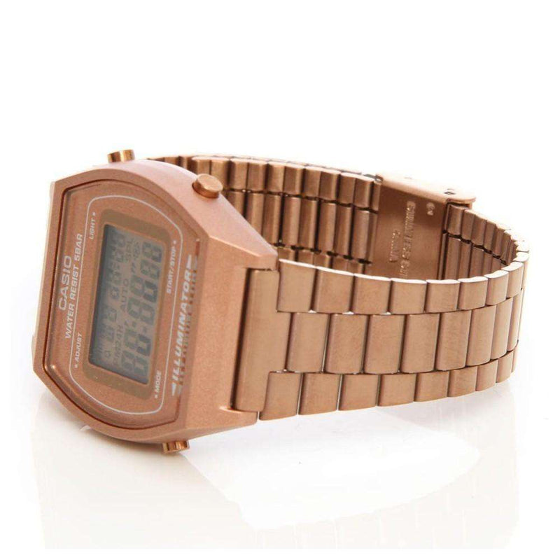 Casio Vintage B640WC-5A Rose Gold Watch for Men and Women - Watchportal Philippines