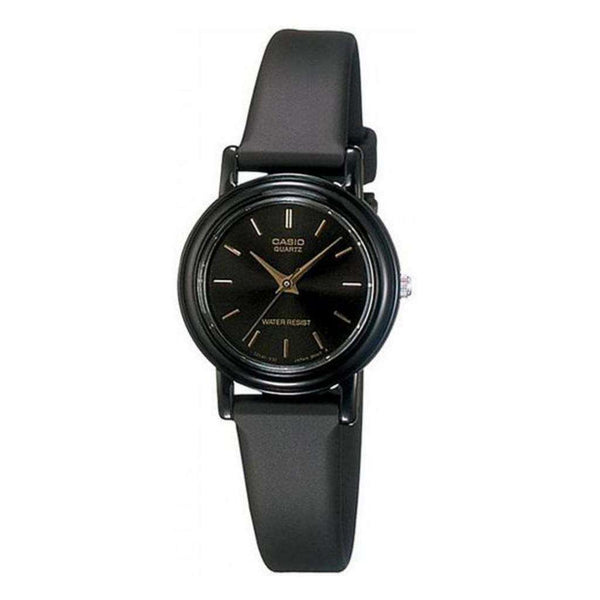 Casio LQ-139EMV-1ALDF Black Resin Watch for Women