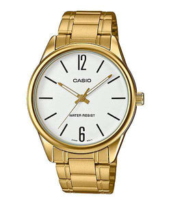 Casio LTP-V005G-7B Gold Stainless Steel Strap Watch for Women