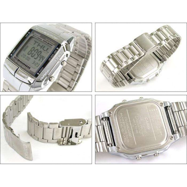 Casio Vintage DB-360-1A Silver Stainless Watch For Men and Women - Watchportal Philippines