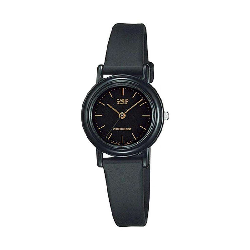 Casio LQ-139AMV-1ELDF Black Resin Watch for Women