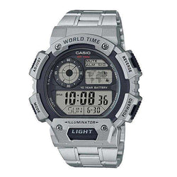 Casio AE-1400WHD-1AVDF Silver Stainless Watch for Men