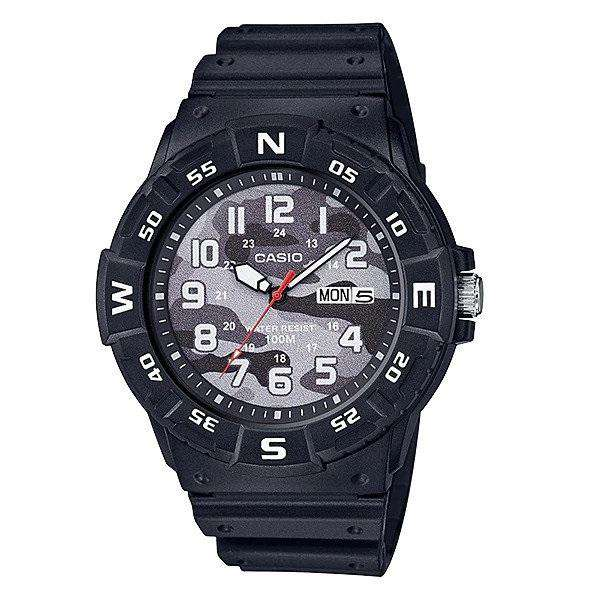 Casio MRW-220HCM-1BVDF Black Resin Strap Watch for Men