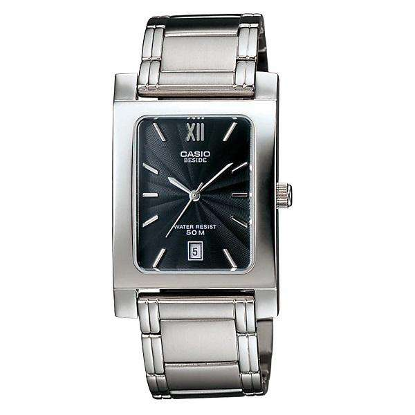 Casio BEM-100D-1AVDF Silver Stainless Watch for Men and Women