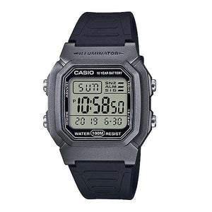 Casio W-800HM-7AVDF Black Resin Watch for Men and Women