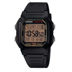Casio W-800HG-9AVDF Black Resin Watch for Men and Women