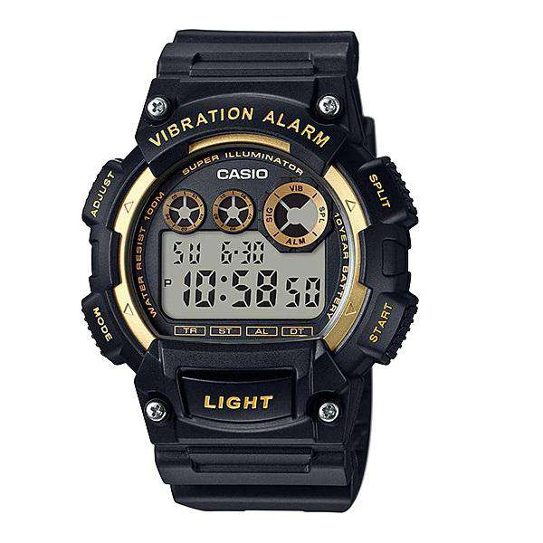 Casio W-735H-1A2 Black Resin Watch for Men