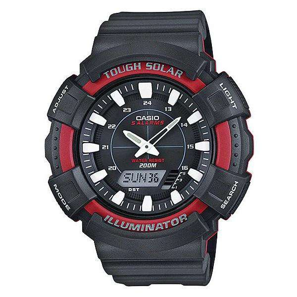 Casio AD-S800WH-4A Black Resin Watch for Men