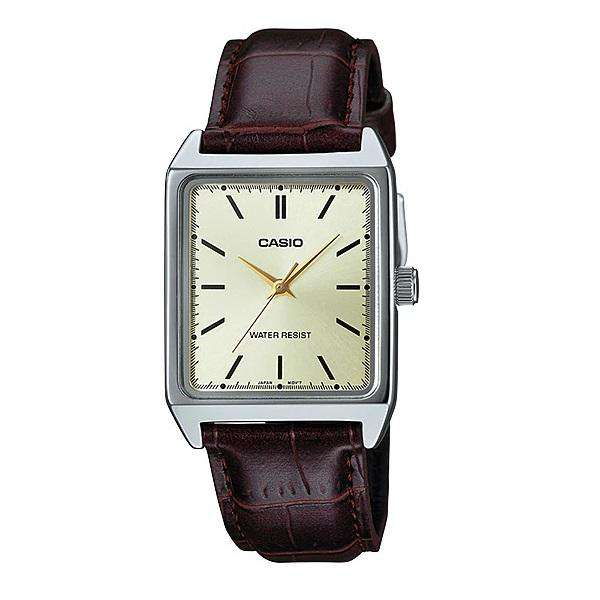 Casio MTP-V007L-9E Brown Leather Watch for Men