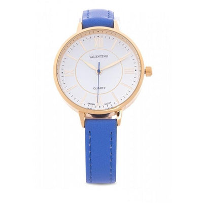 Valentino 20121944-BLUE STRAP BLUE LEATHER STRAP Watch For Women - Watchportal Philippines