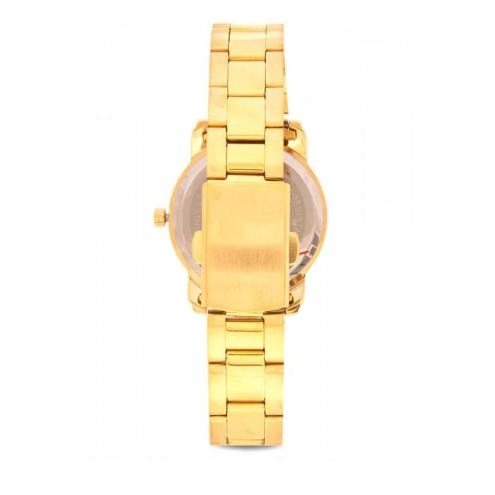 Valentino 20121941-Black Dial Gold Stainless Band Watch For Women - Watchportal Philippines