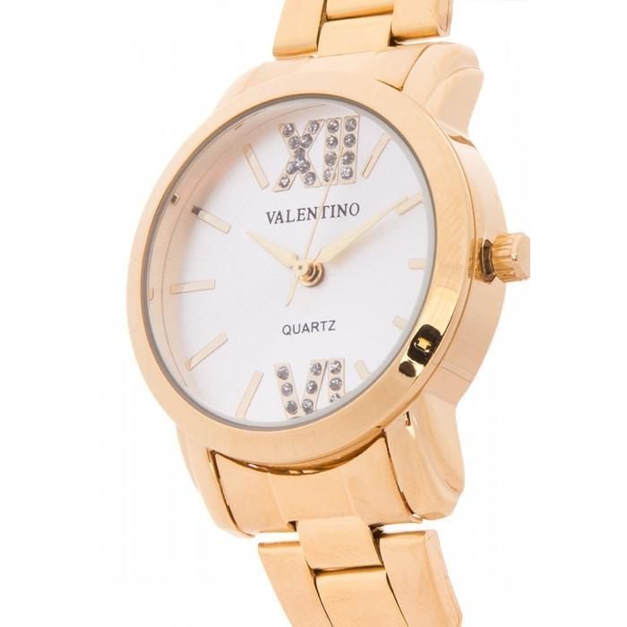 Valentino 20121941-Silver Dial GOLD STAINLESS BAND Watch For Women - Watchportal Philippines