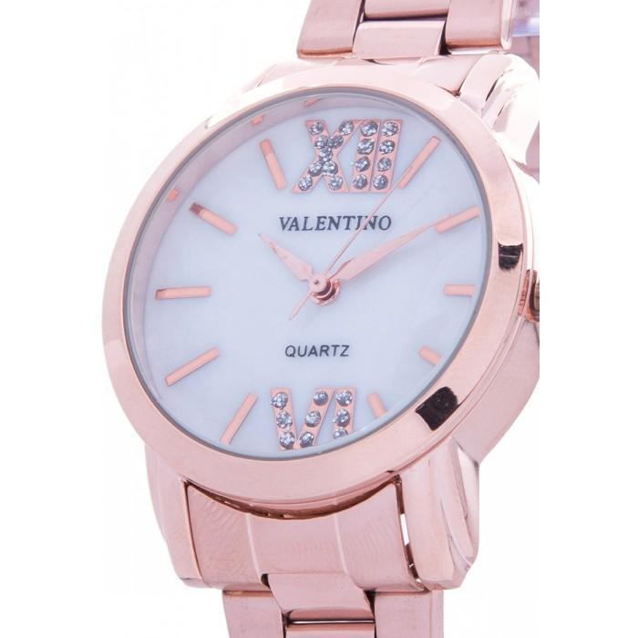 Valentino 20121942-Mop Dial ROSE GOLD STAINLESS BAND Watch For Women - Watchportal Philippines