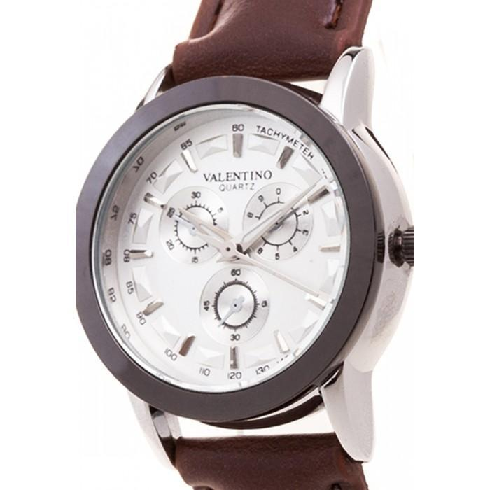 Valentino 20121934-BLK RING - SIL DIAL RADLEY LTHR IP STYLE LEATHER STRAP Watch For Women - Watchportal Philippines