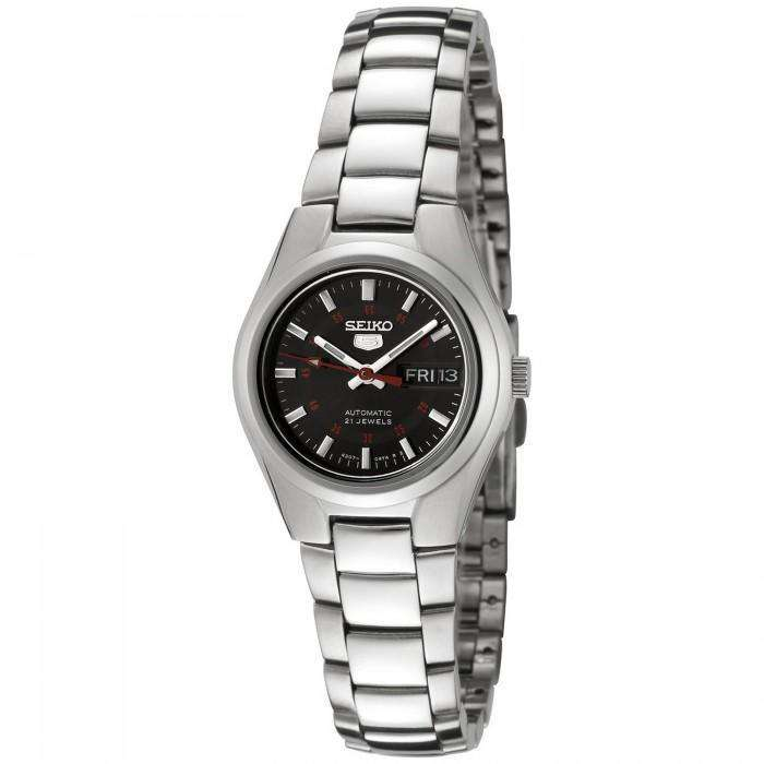 SEIKO SYMC27K1 Automatic Silver Stainless Steel Watch for Women