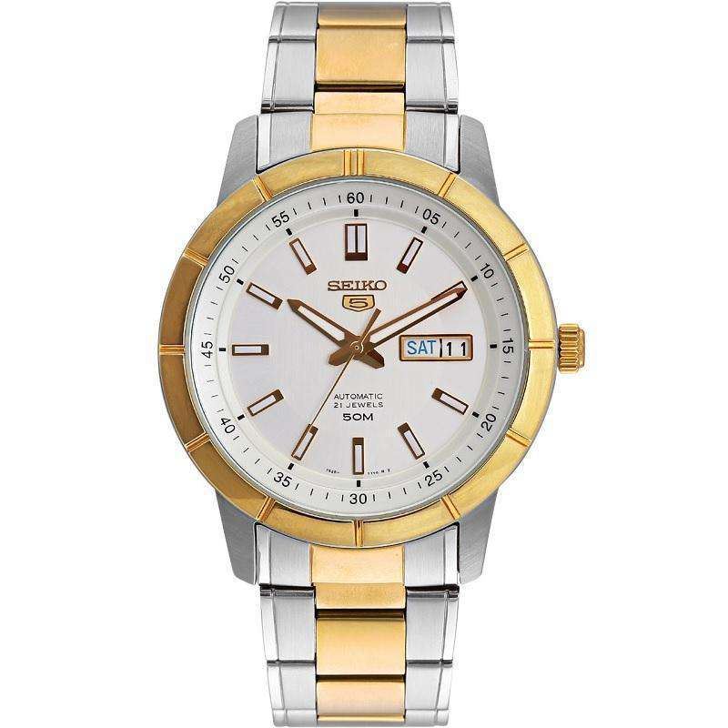 SEIKO SNKN58K1 Automatic Two Tone Stainless Steel Watch for Men