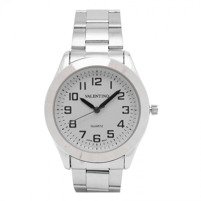 Valentino 20121113-WHITE DIAL WHITE DIAL STAINLESS BAND STRAP Watch  For Men - Watchportal Philippines
