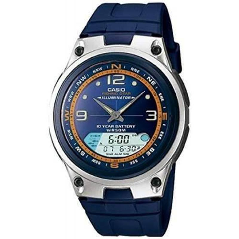 Casio Illuminator Men's Blue Resin Strap Watch- AW-82-2AVDF - Watchportal Philippines
