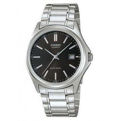 Casio Men's Silver Stainless Steel Strap Watch- MTP-1183A-1ADF - Watchportal Philippines
