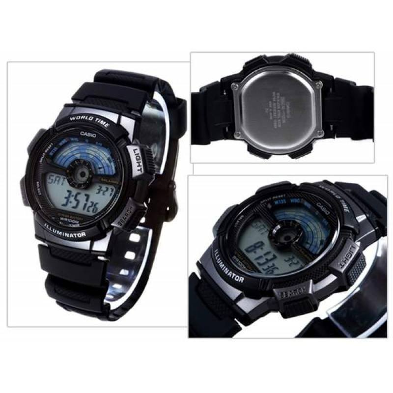 Casio AE-1100W-1A Black Watch For Men - Watchportal Philippines