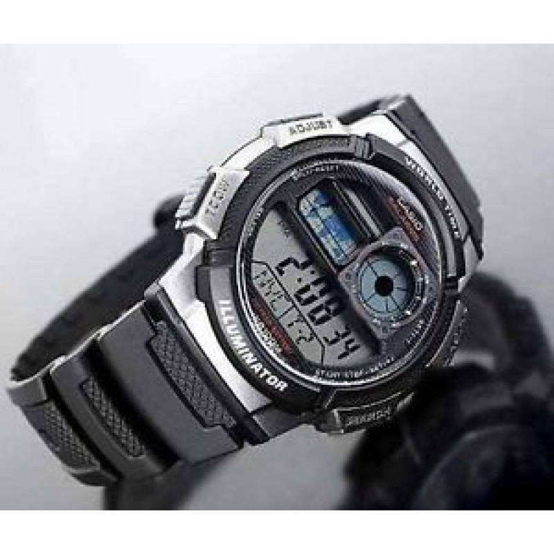 Casio AE-1000W-1B Black Resin Strap Watch For Men - Watchportal Philippines