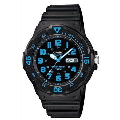 Casio MRW-200H-2B Black Resin Strap Watch For Men - Watchportal Philippines