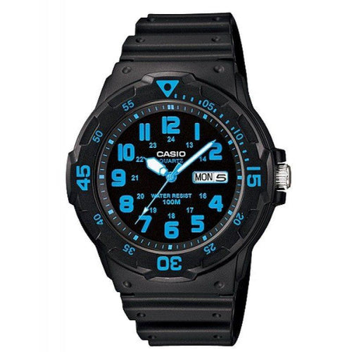 Casio Standard Men's Black Resin Strap Watch- MRW-200H-2B - Watchportal Philippines