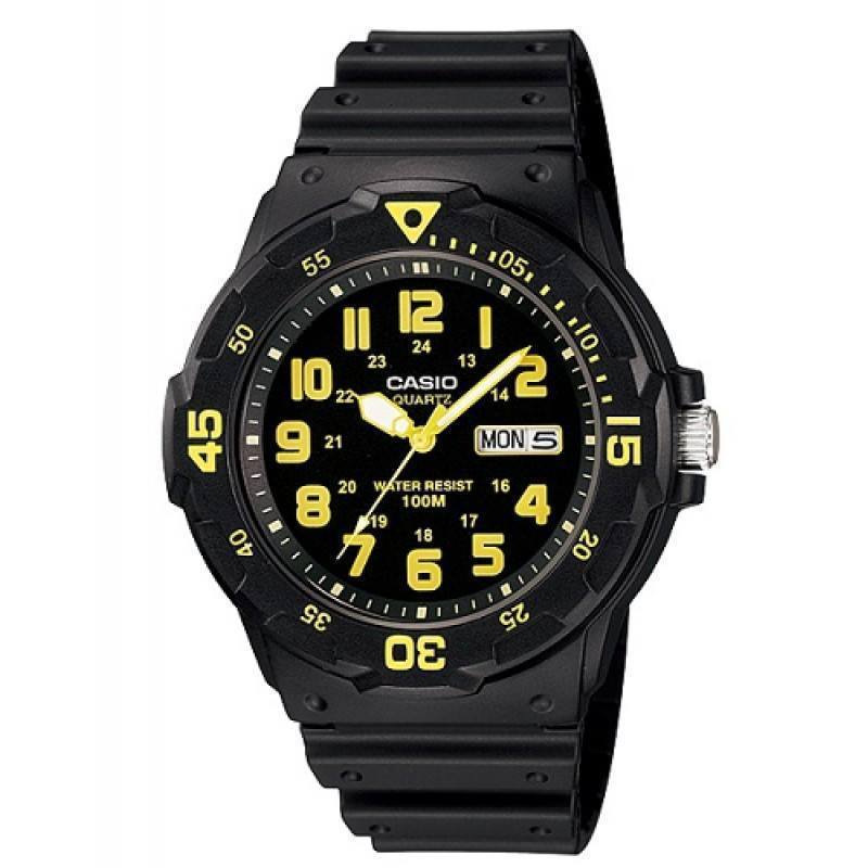 Casio MRW-200H-9B Black Resin Strap Watch for Men - Watchportal Philippines