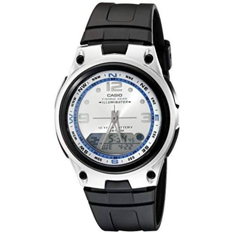 Casio Standard Men's Black/Silver Resin Strap Watch- AW-82-7AVDF - Watchportal Philippines