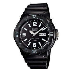 Casio MRW-200H-1B2 Black Resin Strap Watch for Men