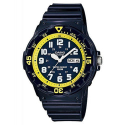 Casio MRW-200HC-2B Blue Resin Strap Watch for Men - Watchportal Philippines