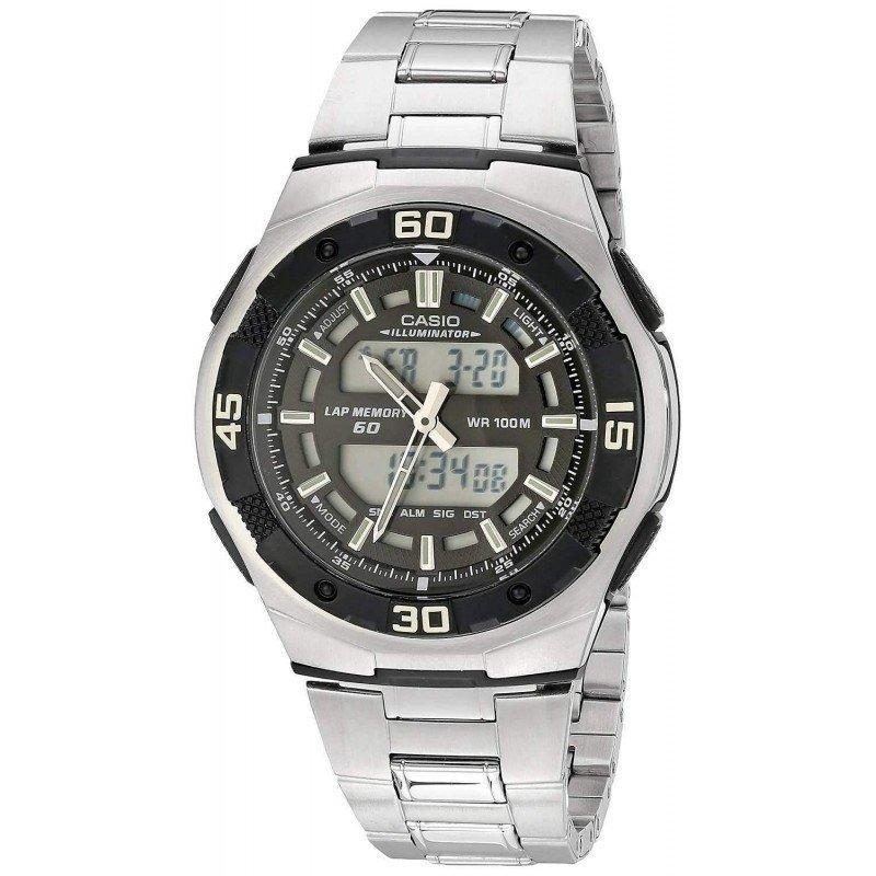 Casio AQ-164WD-1A Silver Stainless Watch for Men - Watchportal Philippines