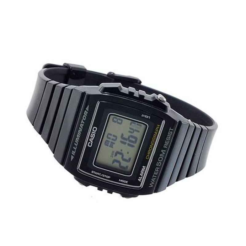 Casio Standard Unisex Black Resin Strap Watch- W-215H-1A (One Size)- For Men and Women - Watchportal Philippines