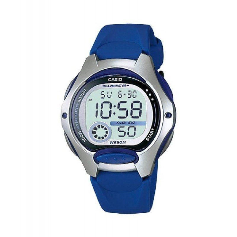 Casio Standard Unisex Blue Resin Strap Watch- LW-200-2A (One Size)- For Men and Women - Watchportal Philippines