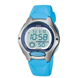 Casio Standard Unisex Blue Resin Strap Watch- LW-200-2B (One Size)- For Men and Women - Watchportal Philippines