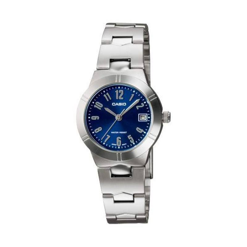 Casio LTP-1241D-2A2 Silver Stainless Watch for Women - Watchportal Philippines