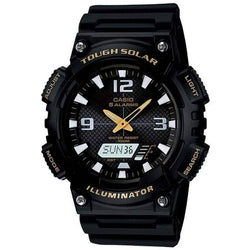 Casio AQ-S810W-1B Black Solar Powered Watch For Men - Watchportal Philippines