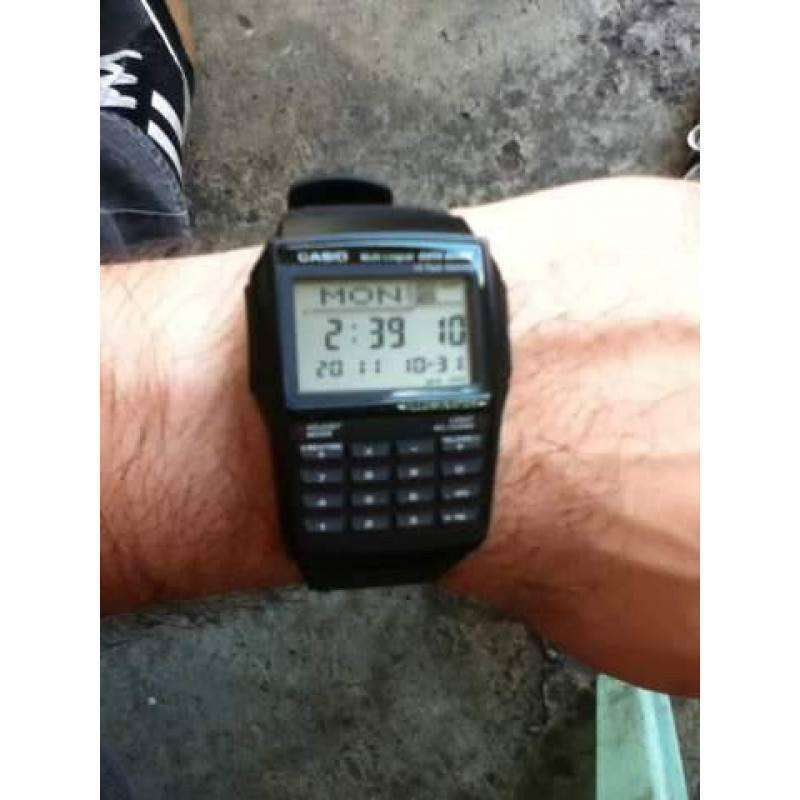 Casio DBC-32-1A Black Calculator Watch for Men and Women - Watchportal Philippines