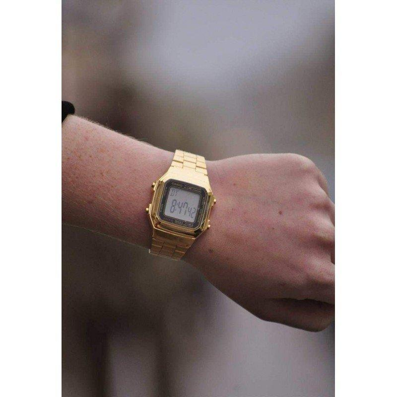 d3f4fb18c689 Casio Vintage A178WGA-1A Gold Plated Watch For Men and Women - Watchportal  Philippines