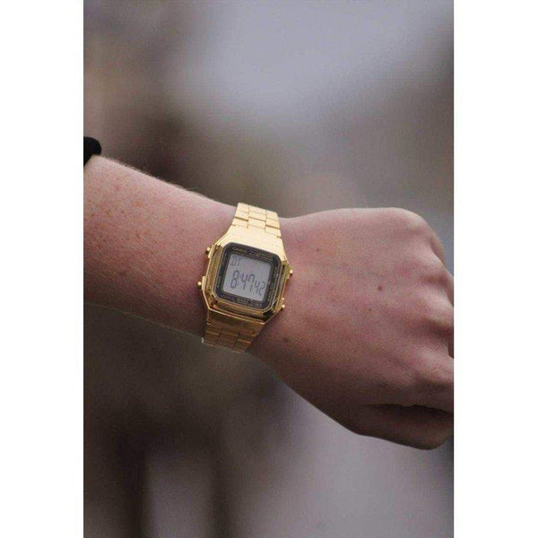 Casio Vintage A178WGA-1A Gold Plated Watch For Men and Women - Watchportal Philippines