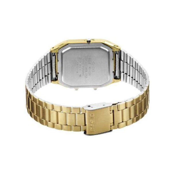 Watches - Casio Vintage Unisex Gold Plated Stainless Steel Strap Watch- AQ-230GA-9DHDF (One Size) - For Men And Women