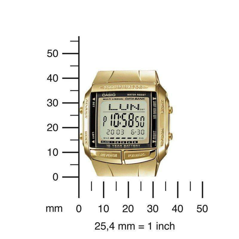 fab0d57080e Casio Vintage DB-360G-9A Gold Plated Watch For Men and Women - Watchportal