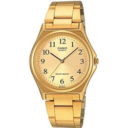 Casio VIntage Unisex Gold Plated Stainless Steel Strap Watch-  MTP-1130N-9BRDF (One Size) - For Men and Women - Watchportal Philippines