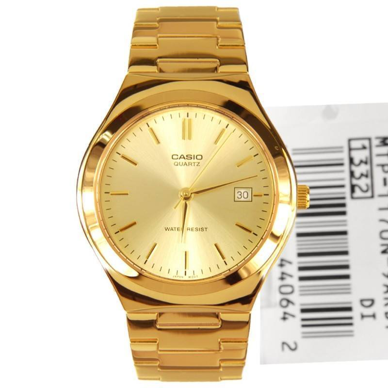 9573182f7517 Casio MTP-1170N-9A Gold Plated Watch for Men and Women - Watchportal  Philippines