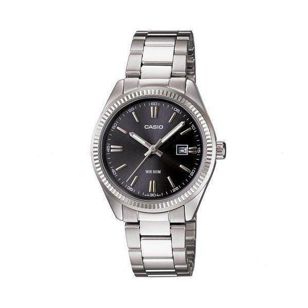 Casio Vintage Unisex Silver Stainless Steel Strap Watch- LTP-1302D-1A1VDF (One Size) - For Men and Women - Watchportal Philippines